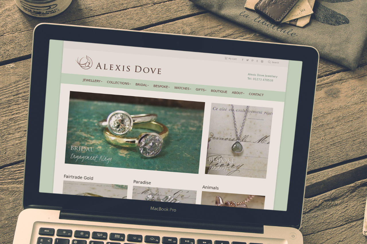 Jewellery Designer Website