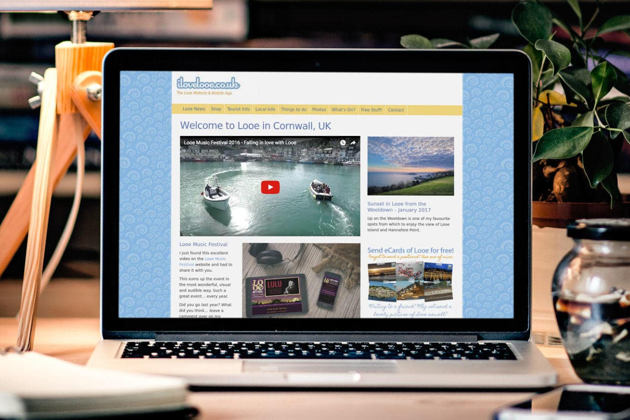 iLoveLooe Tourism Website