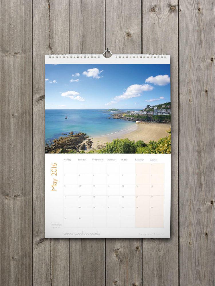 Looe Calendar 2016 May