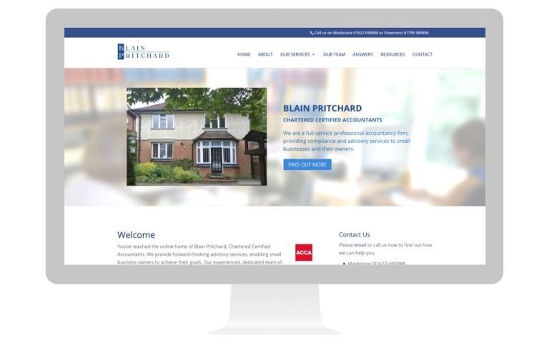 Accountants Website Design