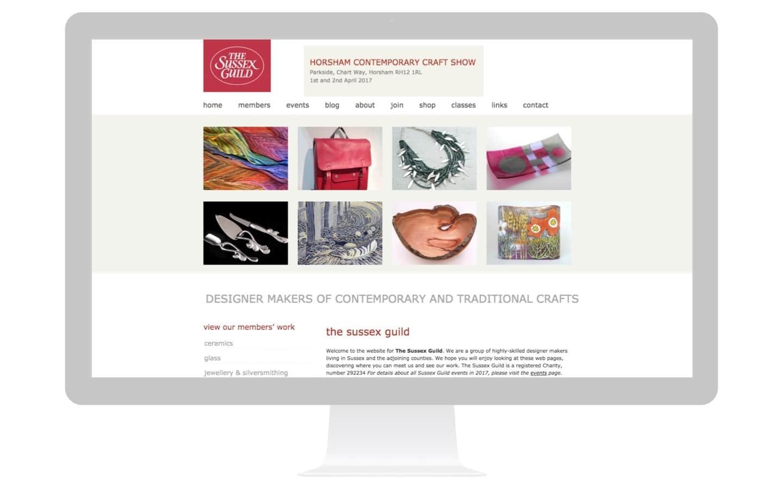 Arts and Crafts Website Designq