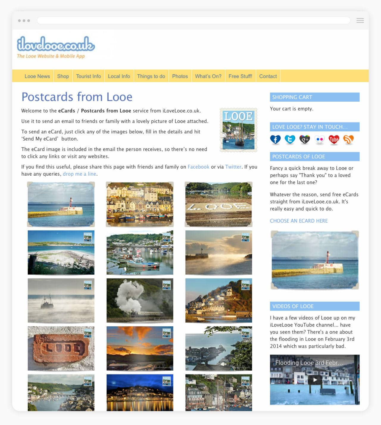 Tourism Website iLoveLooe