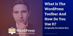 WordPress Toolbar Advice