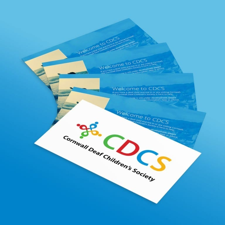 Business Card Cornwall Deaf Children's Society