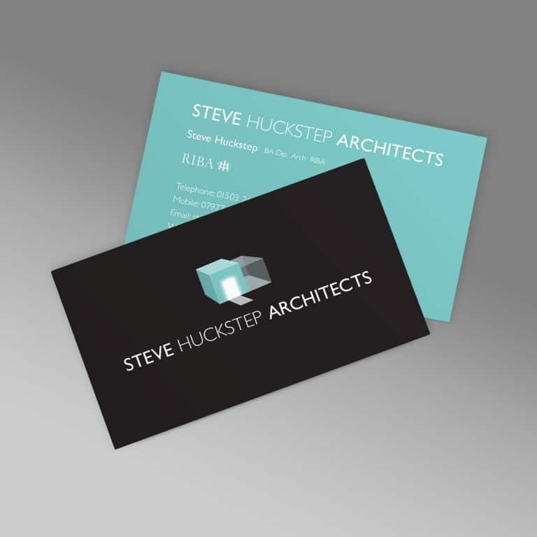 Business Cards Architect Steve Huckstep