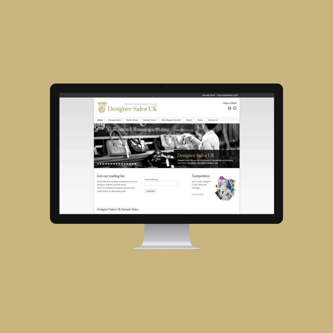 Designer clothing Website DSUK
