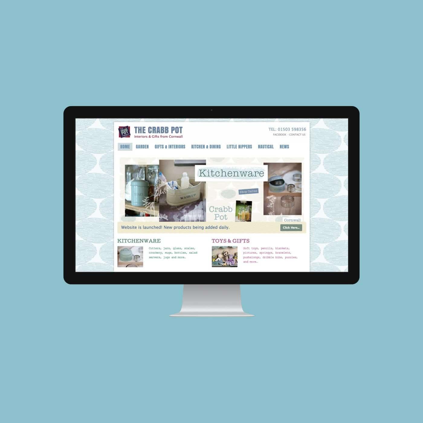 Houseware Website Crabb Pot Looe