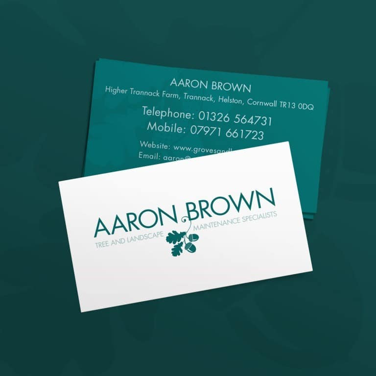 Tree Surgeon Business Card Design