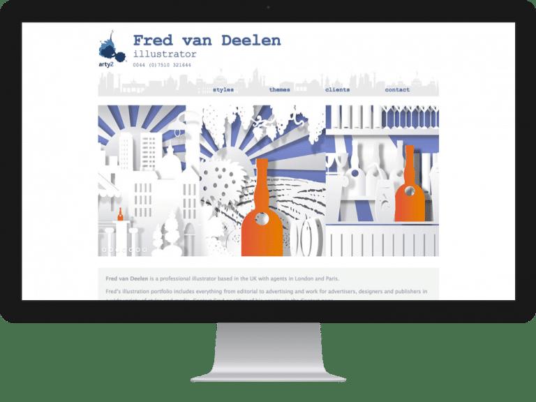 Website Design Illustrators Photographers