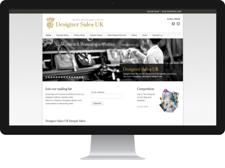Website Design ecommerce websites designer sales
