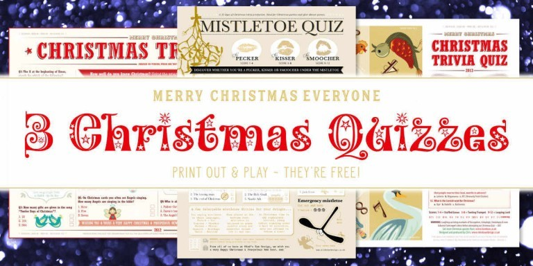 Free Christmas Quizzes