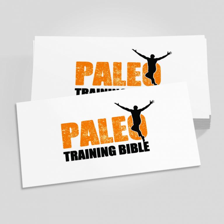 Graphic Designer Paleo Logo